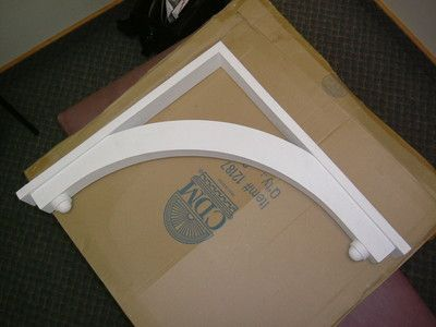 Polyurethane porch brackets corbels porches and ebay for Exterior polyurethane for decks