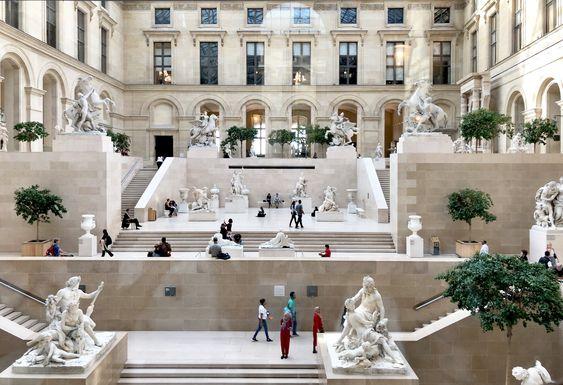 The Louvre Museum Paris France Vacation France France Architecture