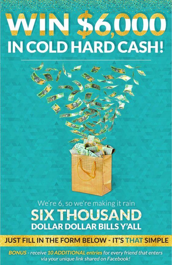 #WIN $6000 cash #Enter here>> http://woobox.com/tvsewx/h8qphu #Australia