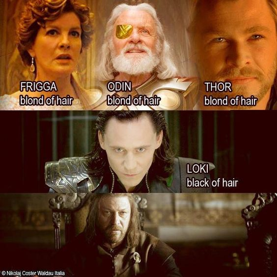 Thor \ Game of Thrones humor.: