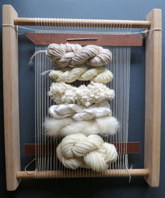 A collection of knitting and crochet yarn and pattern kits by designer Patricia Cantos.