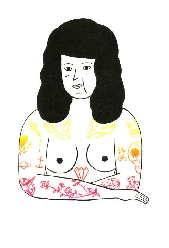 Charline Giquel http://charlinegiquel.tumblr.com