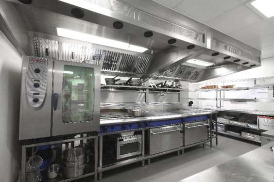 Space installs a first class kitchen fit for a 5 star for Hotel kitchen design