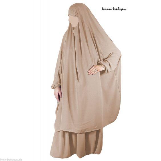 Islamische Kleidung KhimarSet Jilbab mit Rock Hose Abaya Burqa Niqab Kopftuch in Kleidung & Accessoires, Damenmode, Kleider | eBay