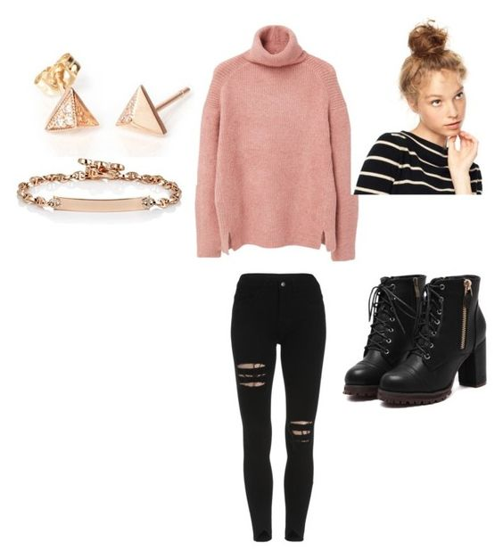 """""""Untitled #91"""" by shanena-ameena on Polyvore featuring MANGO, Hoorsenbuhs, women's clothing, women's fashion, women, female, woman, misses and juniors"""