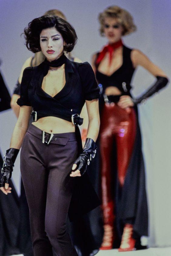 Mugler Spring 1992 Ready-to-Wear Collection Photos - Vogue