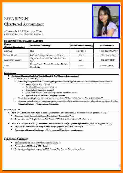 7 Cv Format Pdf Indian Style Theorynpractice Simple Resume