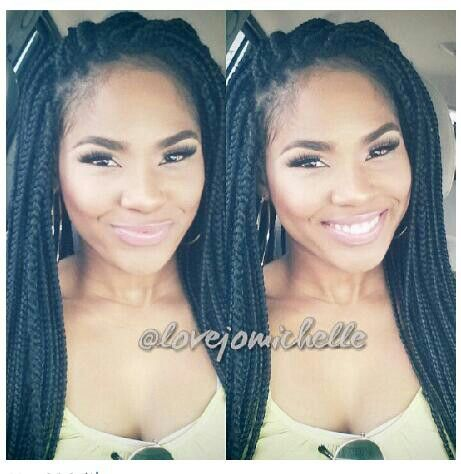 Groovy Protective Hairstyles Box Braids And Braids On Pinterest Hairstyles For Women Draintrainus