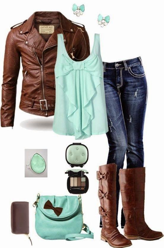 Inspiração de Outono (Outfits Autumn)