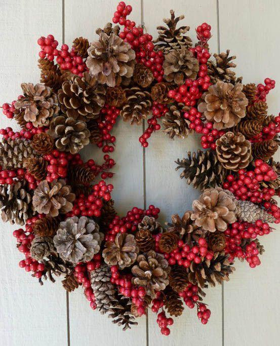 Corona para decoración de Navidad