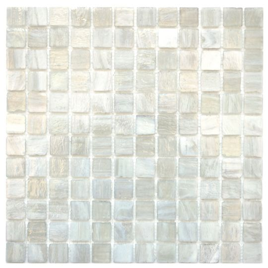 Milky Tea Water Organic Glass Mosaic Tile 15.00