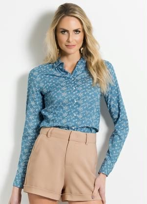 Camisa Lese (Azul) Colcci