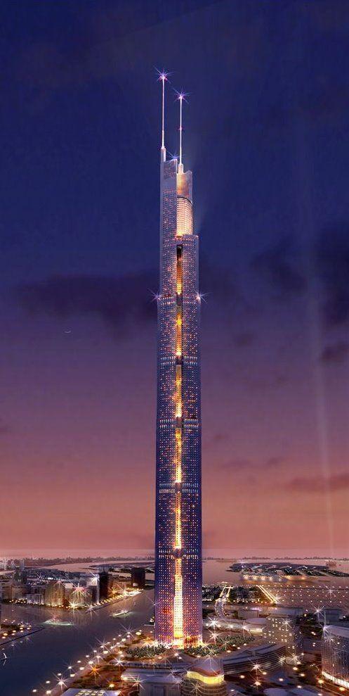 The Al Burj, Dubai #rascacielos #edificios #skyscrapers #buildings                                                                                                                                                     Más