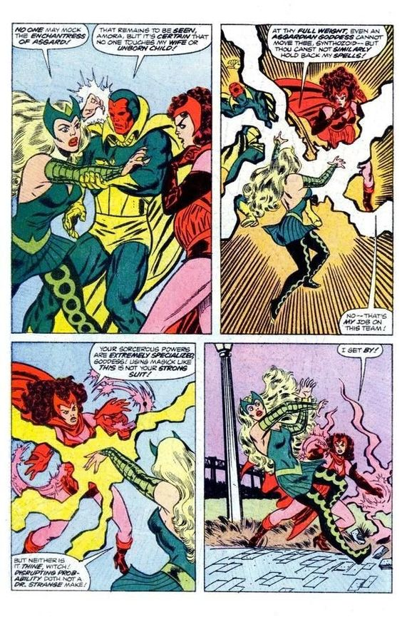 The Enchantress vs The Scarlet witch