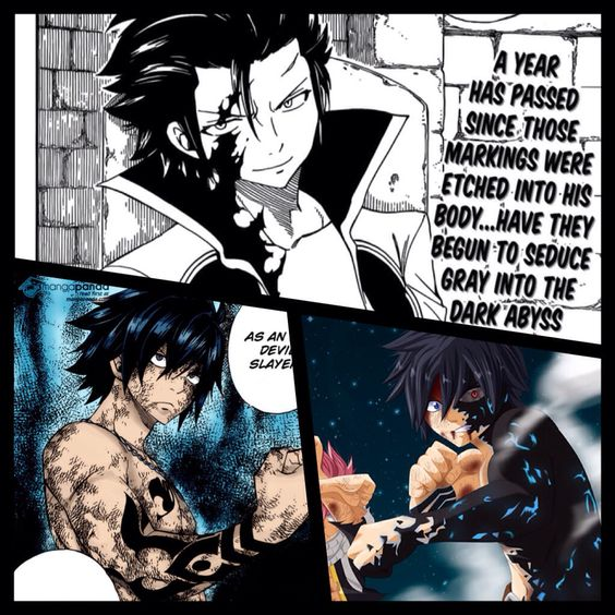 Devil slayer gray fullbuster half demon gray fullbuster for Demon slayer