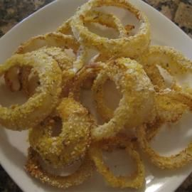 Gluten free onion rings- Healthy Eating Recipes: Clean Eating Recipes ...