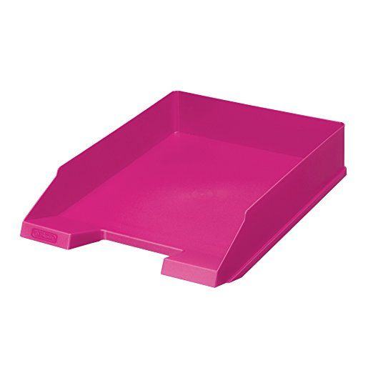 Herlitz Ablagekorb, A4-C4, Classic, 5-er Pack, cool pink