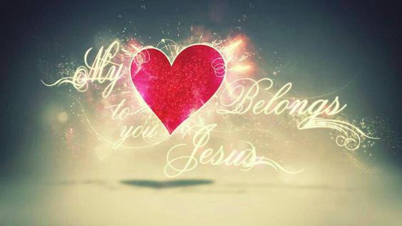 My ♥ belongs to Jesus