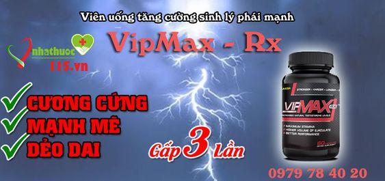 Thuốc Vipmax-rx có tốt không nó giúp cậu nhỏ dài hơn trong thời gian cương cứng, tăng cường sức khỏe sinh lý và làm chậm quá trình mãn dục ở nam giới, kéo dài thời gian quan hệ gấp 5 lần, xem thêm tại nhathuoc115.vn