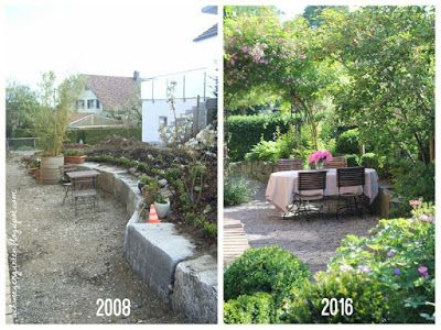 Unser Garten Wird Erwachsen 10 Jahre Ein Schweizer Garten Mit Vorher Nachher Bildern Ein Schweizer Garten Ein Schweizer Garten Garten Gartengestaltung