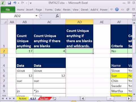 Excel Magic Trick 627 FREQUENCY Array Function (10 Examples