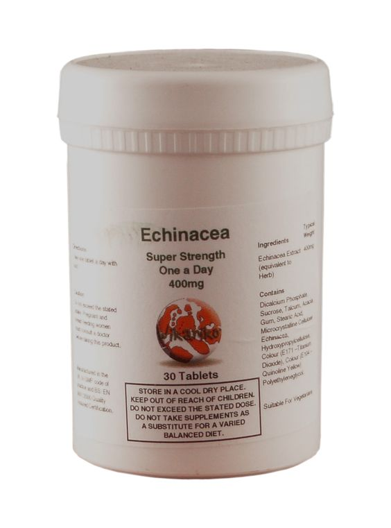 Echinacea - is also known colloquially as the purple coneflower, and grows natively in North America. It has for centuries been used as a treatment for a variety of health problems, and is still used today by top medical professionals as a supplement to or replacement for drug therapy. Primarily, echinacea is believed to be effective in warding off various types infection, including the troublesome common cold (for which of course, there is no current cure).