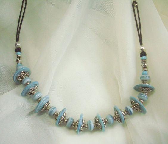 JewelryNecklace Handmade JewelryArt by oldredmaredesigns on Etsy