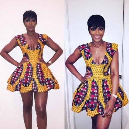 Ankara Short Gowns For Ladies (2018)