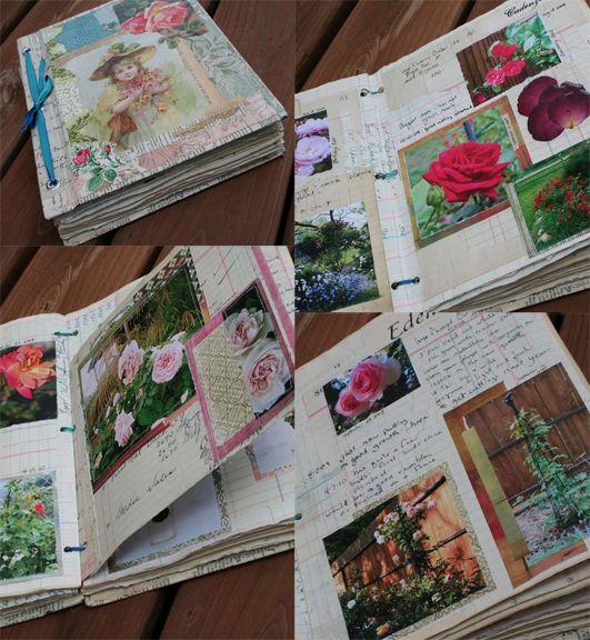 Rose garden journal dedicate a journal to a favourite