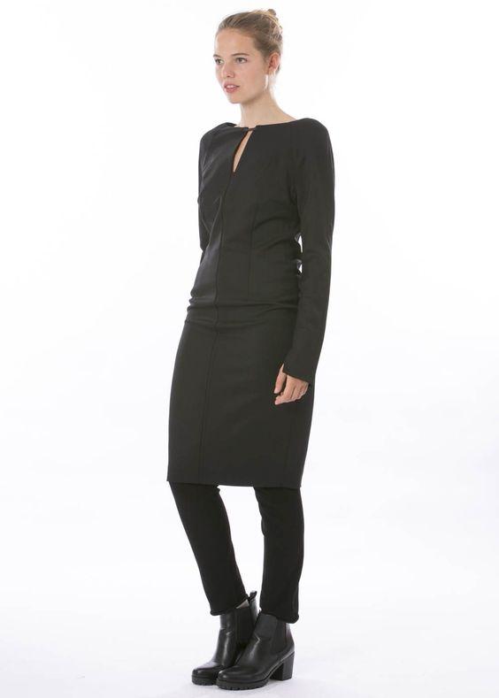 Kleid Calla von annette görtz http://dagmarfischermode.de #fashion #style #stylish #styles #outfit #shopping #beautiful #freshfashion #autumn #fall #winter #annettegoertz #designer #görtz #dagmarfischermode #online #shop