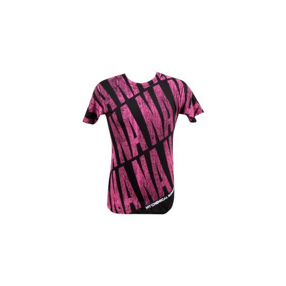 NaNaNa T-Shirt ($19) ❤ liked on Polyvore featuring tops, t-shirts, shirts, my chemical romance, shirts & tops, purple t shirt, t shirts, purple top и purple shirt