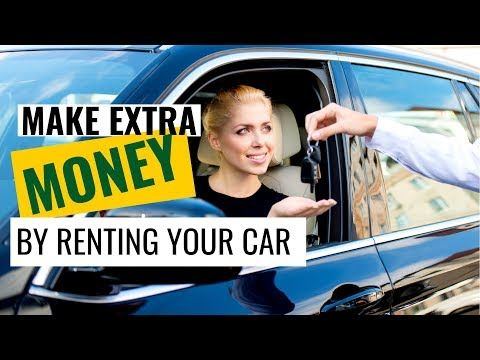 Do You Have A Vehicle Spending A Lot Of Time Sitting Idle Put It To Work And You Can Fatten Your Wallet Extra Money Car Car Loans