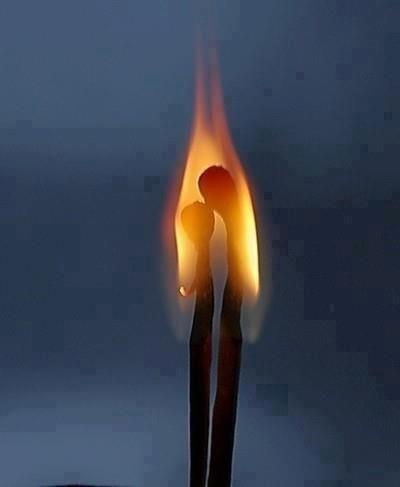 A chama do amor