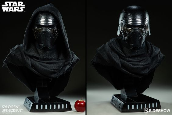 Star Wars Kylo Ren Life Size Bust Star Wars Kylo Ren Darth Vader Statue Star Wars