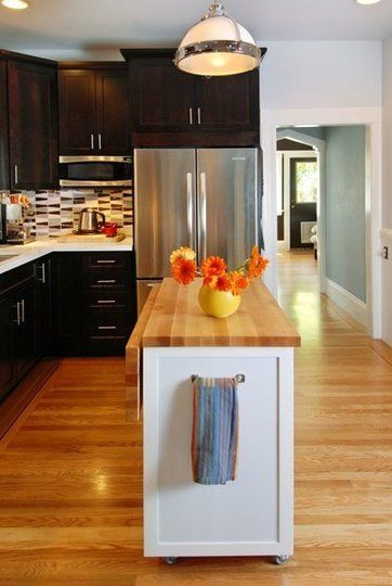 Before After Small Kitchen Renovation Countertops Small Kitchens And Towels