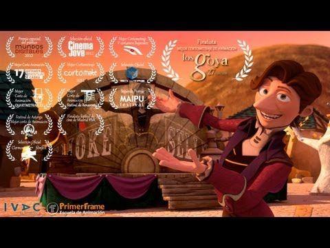 El Vendedor de humo es un cortometraje de Animación realizado integramente por los alumnos de PrimerFrame.com, promoción de Octubre de 2010.