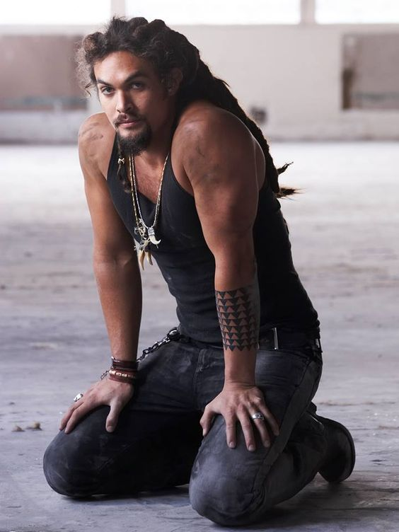 HAPPY BIRTHDAY Jason Momoa! This is totally Ranger from the Janet Evanovich books :: #dreadstop