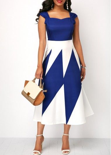 Dizzy Printed Dress