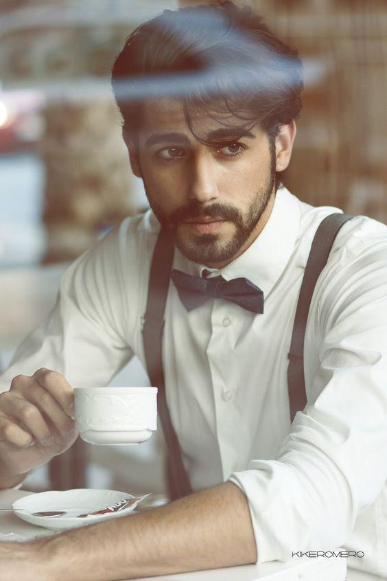 Male model test by Kike Romero