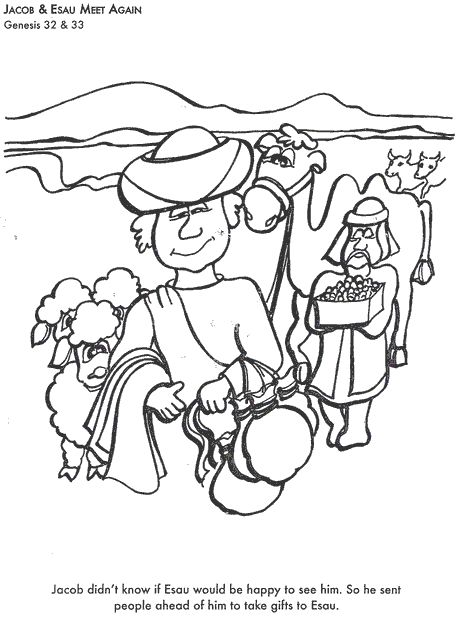 Learn Bible Stories With Jacob Amp Esau Meet Again Bible