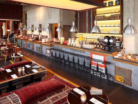 25hours Hotel Hamburg Hafencity Heimat Küche+Bar 2 | Hamburg ...