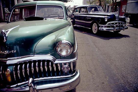 nowdigthis:1950 Desoto & '50 Pontiac