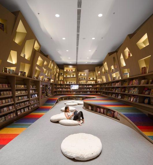 Studio Arthur Casas, Saraiva Bookstore - Rio De Janeiro - RJ. Photo courtesy LEAF Awards.