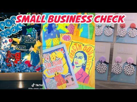 Small Business Check Tiktok Compilation 55 Youtube In 2021 Business Checks Small Business Business