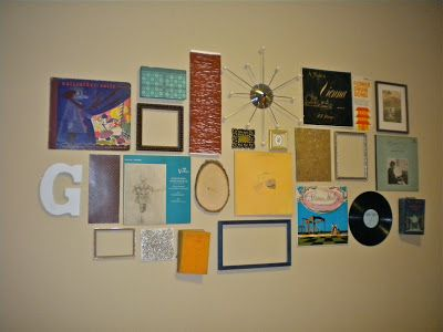 Cute wall collage ideas! Trying to get my new blog off the ground... repins appreciated!