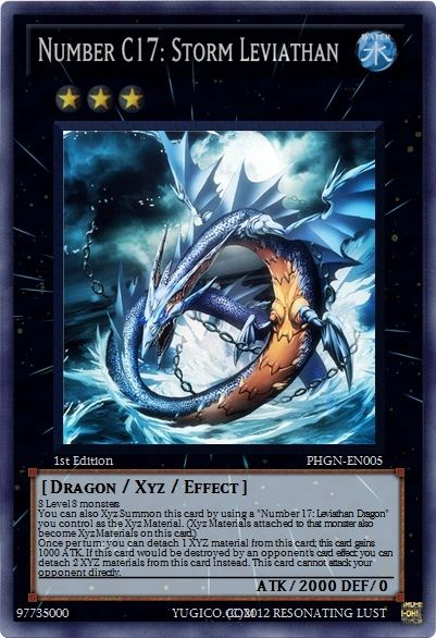 Number C17: Storm Leviathan - Realistic YuGiOh Cards ...