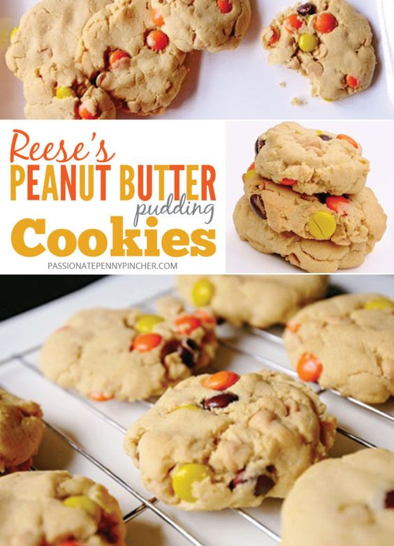 Reese's Peanut Butter Pudding Cookies