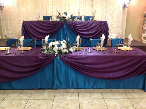 Teal And Purple Wedding Ideas: Purple Wedding, Teal And Purple On Pinterest