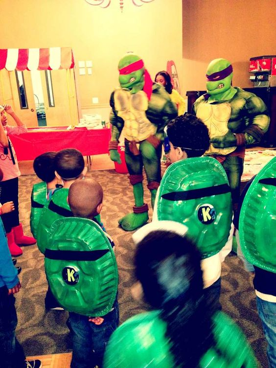 Teenage Mutant Ninja Turtles Birthday Party Ideas | Photo 26 of 39 | Catch My Party
