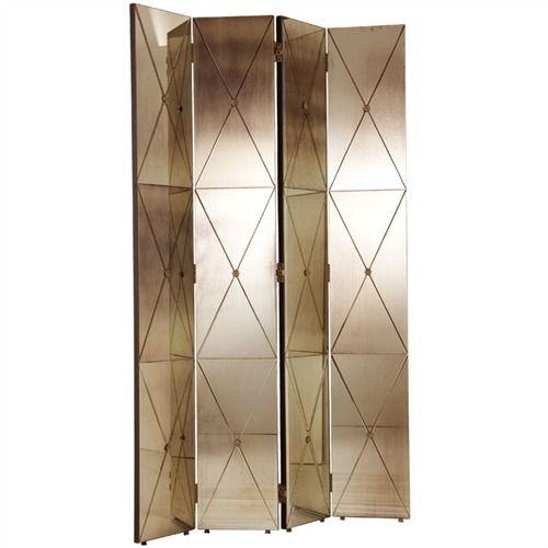 Stephan Antique Mirror Room Screen